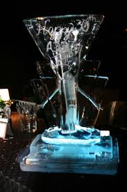 martini bar martini bar ice sculpture 30 yard ideas blog yardshare com