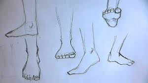 how to draw foot 5 different ways youtube