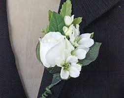 Rose Boutonniere Rose Boutonniere Etsy