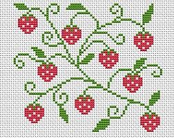 fancy word cross stitch pattern in pdf for instant