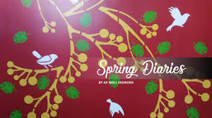 asian paints royale play spring diaries wall design youtube