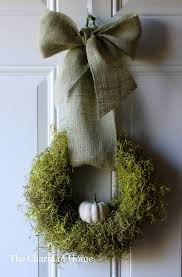 home sweet home 31 wreaths thanksgiving and modern