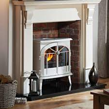 new in dimplex meribel creamy white electric opti myst stove