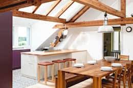 dachgeschoss k che 11 fantastische küchen mit dachschräge