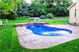 waterfalls for inground pools unique waterfall for inground swimming pool design ideas for