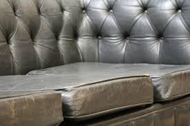 Leather Chesterfield Sofa For Sale Vintage Black Leather Chesterfield Sofa Sold