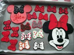minnie mouse party and cake decorations sunshine scrapbook