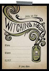 free printable halloween party invitations badbrya com
