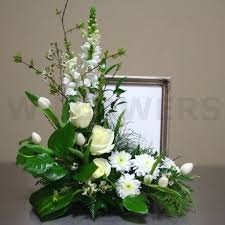 flower arrangements for funerals 20 best triangular floral arrangements images on