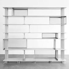Silver Bookshelf Laisse Béton Cortland Bookshelf By Atelier D U0027amis Coup D U0027etat