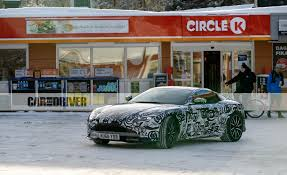 used aston martin ad 2018 aston martin vantage spy photos news car and driver