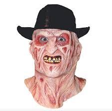 Freddy Krueger Halloween Costume Kids Scary Masks Adults Halloween Freddy Krueger Scary Mask