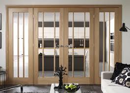 Folding Room Divider Doors Easi Frame Oak Room Dividers French Doors From Hamiltons Uk