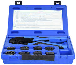 sg tool aid sgt18980 ratcheting terminal crimping kit quick