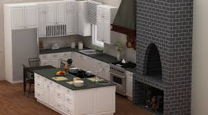 wonderful modern kitchen with dark counter top organizer white