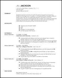 Create Resume Samples by Download Dance Resume Examples Haadyaooverbayresort Com