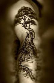 great tree on back tattoos on back