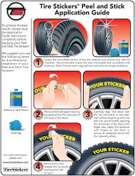 peel and stick tire stickers application guide tire stickers com