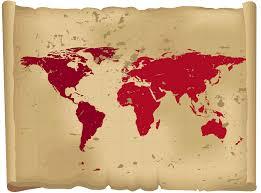Map The World by Oval Shaped World Map U2022 Mapsof Net