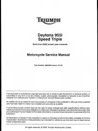 download programme entretien triumph daytona t595 daytona 955i
