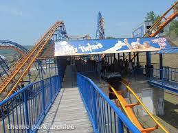 Six Flags The Great Escape Theme Park Archive Steamin U0027 Demon At Great Escape U0026 Splashwater