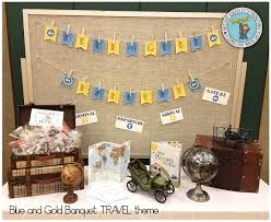 Travel Theme cub scouts blue and gold banquet travel theme brightly street