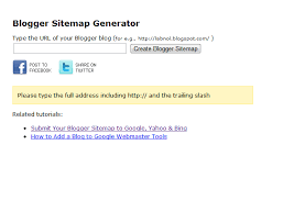 Sitemap Blog How To Submit Blogger Blogspot Blog Sitemap To Google