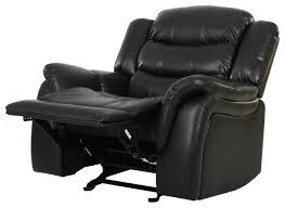 Black Leather Recliner Luxury Black Leather Recliner Chair D29 About Remodel Fabulous
