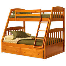simple bunk bed plans american woodcrafters natural elements