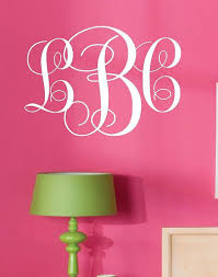 online get cheap monogram wall decal aliexpress com alibaba group