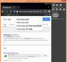 android sdk emulator how to install whatsapp on pc using android sdk emulator