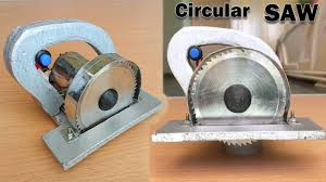 how to make a circular saw at home youtube