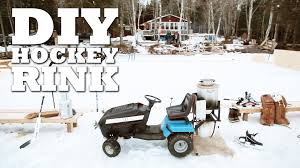 how to make a zambroni and hockey rink youtube