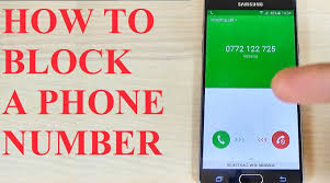 how do you block a phone number on an android samsung galaxy a3 a5 a7 2016 how to block a phone number
