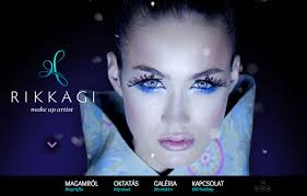 makeup artists websites rikkagi makeup artist css winner