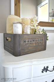 bathroom cabinets wooden crate farmhouse vintage style bathroom