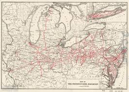 Map Pennsylvania by The Pennsylvania Center For The Book Pennsylvania Railroad
