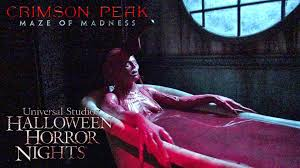 crimson peak haunted house maze walk through halloween horror