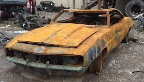 burnt orange camaro 1969 camaro z 28 severely burnt on craigslist gm authority