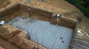 How To Build A Floor For A House Inground Swimming Pool Building Process Step By Step Youtube
