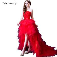 Wedding Dress Online Shop Aliexpress Com Buy New High Low Wedding Dress Strapless Tube Top