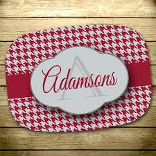 personalized melamine platters personalized platter customized melamine platter housewarming