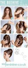 how to do a beehive hairstyle step by step beehive hairstyle