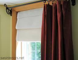making a faux roman shade diy talent sas interiors pretty