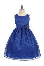 tea length girls dress line