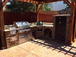 outdoor kitchen backsplash outdoor kitchens hi tech appliance throughout outdoor kitchen
