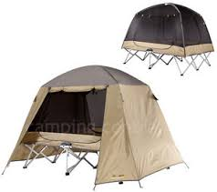 Instant Bed Oztrail Ultimate Queen Stretcher Tent Camp Cot Swag Mozzie Dome