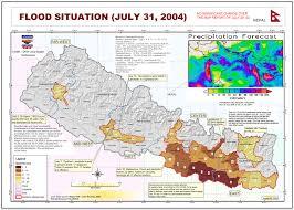 Kathmandu Nepal Map by Nepal Flood Situationi July 31 2004 Nepal Reliefweb