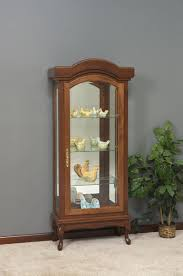 Used Curio Cabinets Furnitures Fill Your Home With Dazzling Curio Cabinets For