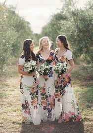 floral print bridesmaid dress 33 floral printed bridesmaid dresses happywedd